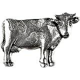 Quality Handcrafts Guaranteed Pin de solapa de vaca
