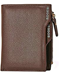 Al Fascino Bogesi Brown PU Leather Wallet / Purse For Men