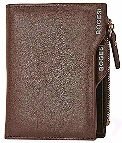 Al Fascino Bogesi Brown PU Leather Wallet / Purse For Men