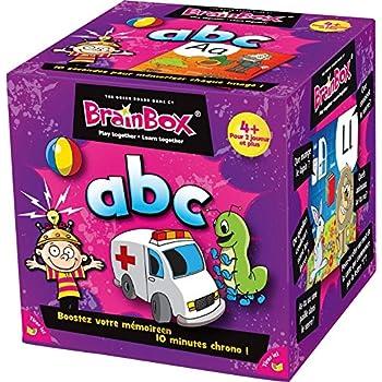 Asmodee 93320 - Brain Box - ABC - Jeu Enfants
