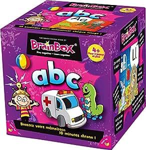 Asmodee - 93320 - Brain Box - ABC - Jeu Enfants