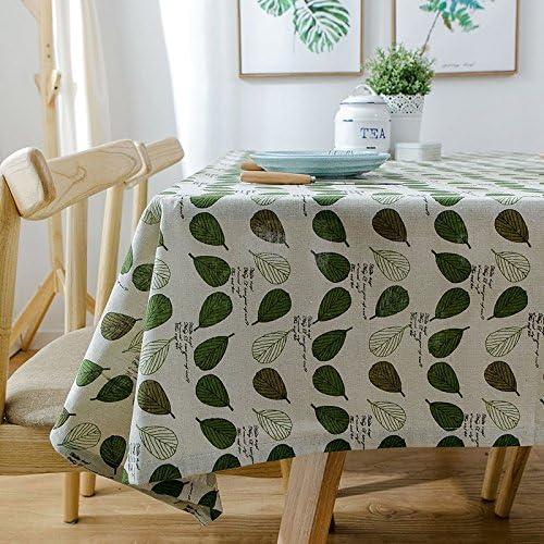 140240 cm verde Leaf Garden picnic rettangolare da pranzo Nordic Nordic Nordic Style Instagram tovaglia cotone lino quadrato eco-friendly copre B076FSWKLF Parent | On Line  | Elevata Sicurezza  | Prima il cliente  475d49