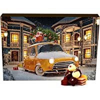 Hallingers Adventskalender Pralinenkalender It's Christmas | Advents-Karton | 300g