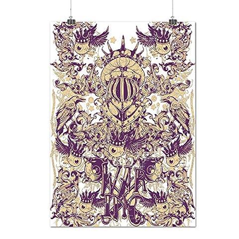 Monstre Inc Sweatshirt - Guerre Inc Diable Roi Monstre Bats Matte/Glacé