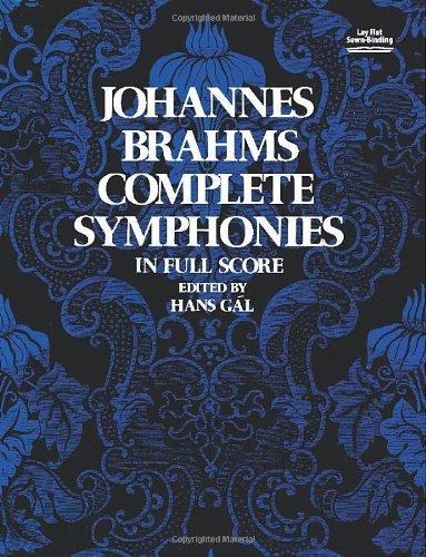 Complete Symphonies in Full Score (Vienna Gesellschaft Der Musikfreunde Edition) por Johannes Brahms
