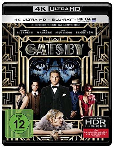 Der große Gatsby  (4K Ultra HD + 2D-Blu-ray) (2-Disc Version) [Blu-ray]