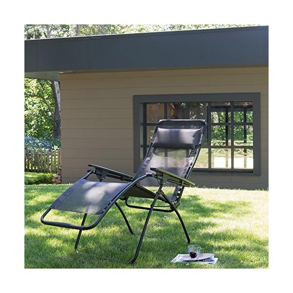 Lafuma Extra Large FM3082 Futura XL Reclining Chair - Graphite