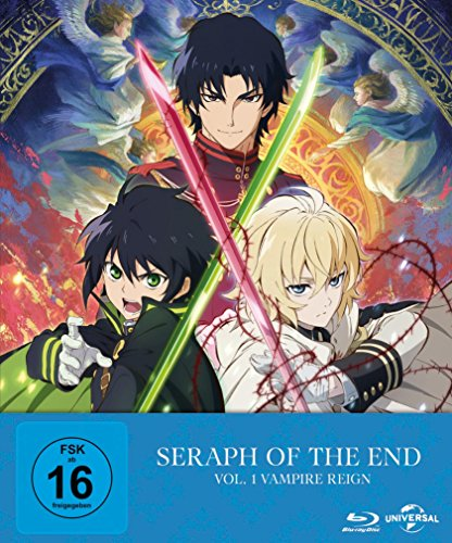 Seraph of the End: Vampire Reign (Ep. 1-12) - Vol. 1 - Limited Premium Edition [Blu-ray] - Einheit Anhang