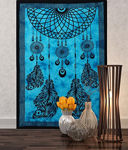 turquesa-dream-catcher-para-colgar-de-la-pared-decoracion-mandala-tapiz-hippie-dormitorio-84-x-55-pu