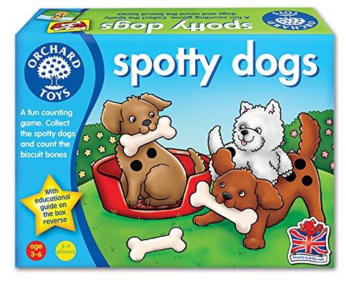 Orchard Toys Spotty Dogs - Juego de mesa (en inglés)
