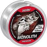 Jaxon Angelschnur Monolith Premium 150m / 0,10mm-0,35mm Spule Einzelschnüre Monofile TOP