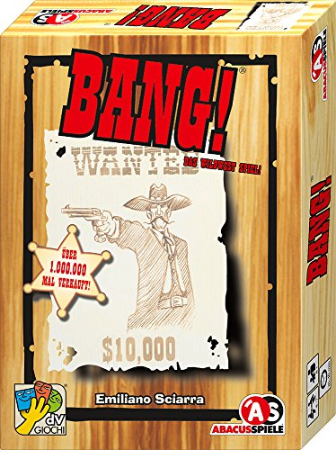 Abacus Spiele ABACUSSPIELE 69162 - BANG!