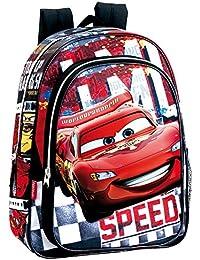 Disney Cars Mochila Infantil, Color Rojo