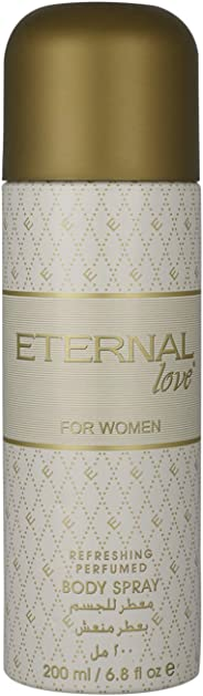Eternal Love Body Spray For Women, Floral,  200 ml