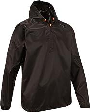 Quechua Rain Cut Jacket, Extra Small (Black)
