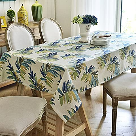 American Rural Small Floral Table Cloth/ Fabric Tablecloth/Coffee Table Computer