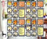 4 Segmente Foto Deko Karten Raumteiler Bilderrahmen Fotocollage Bilderwand Kartenvorhang Bildervorhang Galerie Vorhang Kartenhalter Silber
