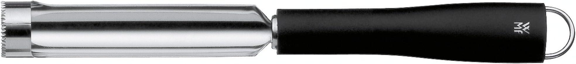 WMF Black Line Apfelausstecher/Apfelkernausstecher/Apfelentkerner, 23 cm, ideal für Äpfel und Birnen, Cromargan Edelstahl, Kunststoff, spülmaschinengeeignet