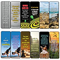 Motivational Quotes to Help You Achieve Your Dreams Bookmarks (60-Pack)