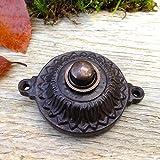 Antikas | Klingel in stilvollem Design wie zur Jahrhundertwende | antik wirkender Klingelknopf