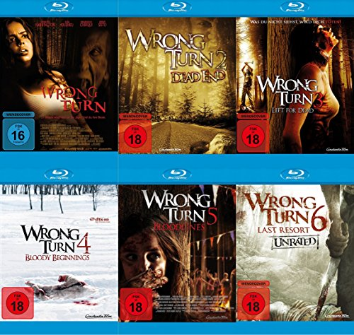 Wrong Turn 1-6 Set (Blu-ray) -
