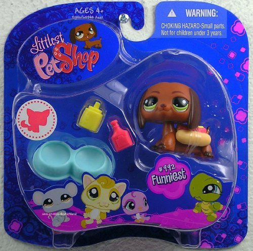 sortment 'B' Series 3 Collectible Figure Dachshund by Littlest Pet Shop ()