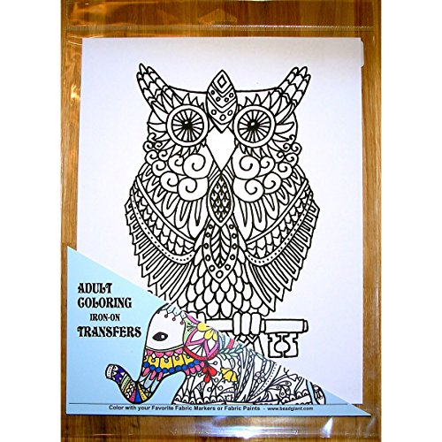 Giraffe Crafts Owl Coloring Transfer-9