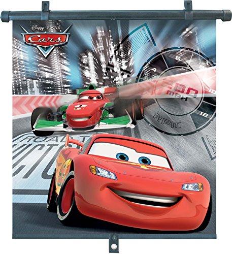 Preisvergleich Produktbild Disney Cars 29062 Seitenscheiben - Sonnenblenden-Rollos, 2 Stück - 46 x 56 cm, für Kinder - Lightning McQueen und Francesco