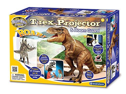 Brainstorm Toys T-Rex - Proyector y Protector de habitación
