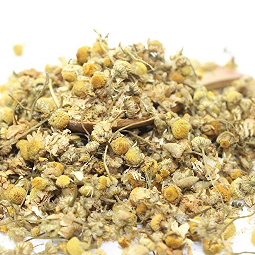 Tealyra - Egyptian Chamomile Tea - Pure Herbal Tea - Natural Bedtime Tea - Caffeine-Free - Relaxing Herbal Remedy - Anxiety and Stress Relief - 450g (16-ounce)