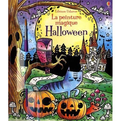 Halloween - La peinture magique