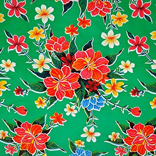 mantel-de-hule-para-mesa-120-cm-ancho-largo-por-medio-metros-modelo-flor-hibisco-verde-fantastik