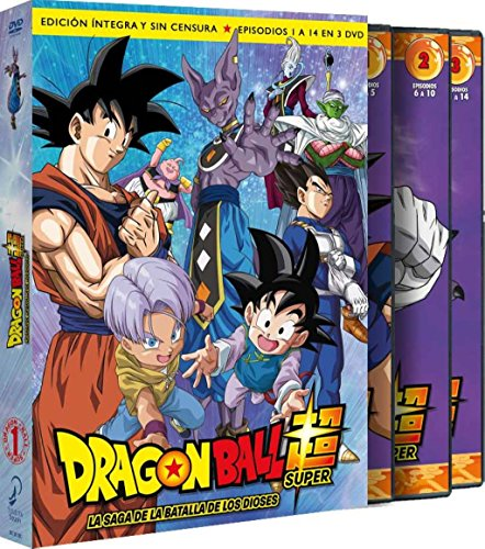 Dragon Ball Super. Box 1. La Saga De La Batalla De Los Dioses Episodios 1 A 14 [DVD]