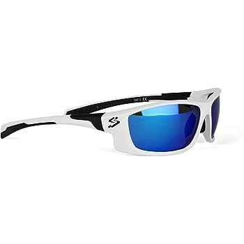 Spiuk Spicy - Gafas de Ciclismo Unisex, Color Blanco/Negro