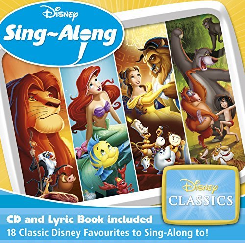 Disney Sing Along: Disney Classics(Instrumental only) by Various Artists - Classics Cd Disney