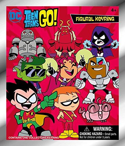 DC Teen Titans Go. 3D Schaumstoff Blind Bag Schlüssel Ketten Action Figur