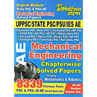 UPPSC AE Mechanical Engineering Chapter-wise Solved Papers Exam Planner