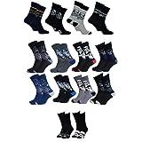 Disney Socks And Underwear - Calzini da uomo Star Wars in cotone, colori assortiti