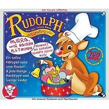 Rudolph mit der roten Nase 2. 2 CDs: Hurra, wir backen Plätzchen. Probiert die leckeren Rezepte gleich aus.Ein tolles Hörspiel rund ums Backen und ... Lieder. Heftchen mit vielen Backrezepten