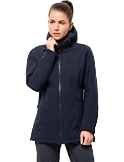 Jack Wolfskin Rock Valley Softshelljacke Damen midnight blue