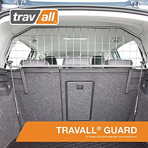 Travall® Guard Hundegitter TDG1355 - Maßgeschneidertes Trenngitter in Original Qualität