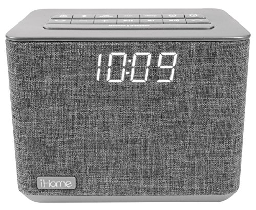 iHome iBT232 Dual Radio Wecker mit Bluetooth, Freisprecheinrichtung und zusätzlichem USB-Ausgang - Ihome-radiowecker