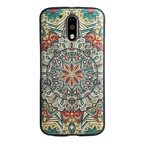 MYLB completa gama Protección Soft TPU caso de la cubierta 3D para Motorola Moto G4 Play smartphone (04)