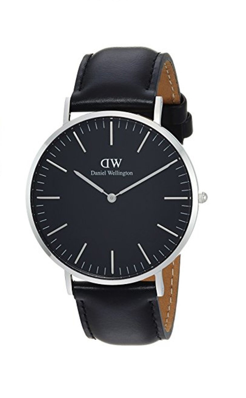 Daniel Wellington Herren Analog Quarz Uhr mit Leder Armband DW00100133 14