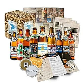 Bayrische Bier-Box – Männer Geschenkidee, Geschenke zum 40 Geburtstag, Geschenke zum 70 Geburtstag oder ausgefallenes Weihnachtsgeschenk