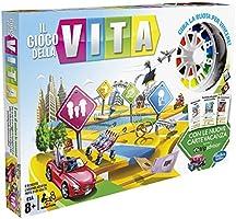 Hasbro C0161103 - Il Gioco della Vita Gioco da Tavolo, Edizione 2017