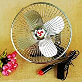 QXXZ Auto Kfz Lüfter,Auto Ventilator, Gebläse Klimaanlage Fan, Doppellüfter, Einstellbar Ventilator