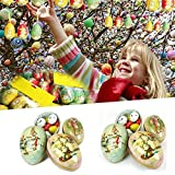 Sedeta® Mini Easter eiförmigen Painted Eggshell Andenken Zinnsüßigkeitkasten auf Boxen-Partei-Dekoration-Kind-Kinder Geburtstag Hochzeit Weihnachtsgeschenke