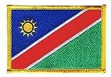 Flaggen Aufnäher Namibia Fahne Patch + gratis Aufkleber,