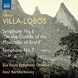 Villa-Lobos: Symphony No. 6/ 7 (São Paulo Symphony Orchestra; Isaac Karabtchevsky) (Naxos: 8573043)